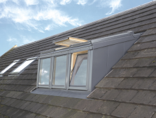 Dormer including Velux