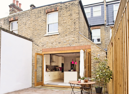 Side Extension on London Terraced House