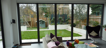 View of Garden from new extension