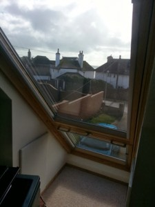 Velux to Dormer Window Closed
